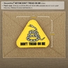 """Picture of Don't Tread On Me PVC Patch 3"""" x 2.6"""" by Maxpedition®"""