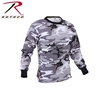 Picture of T-Shirt - Long Sleeve Coloured Camo Poly/Cotton by Rothco®
