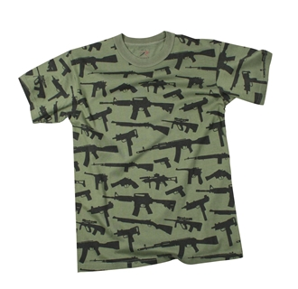 "Picture of Vintage ""Guns"" T-Shirts by Rothco®"