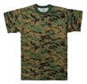 Picture of T-Shirt - Digital Camo Poly/Cotton by Rothco®