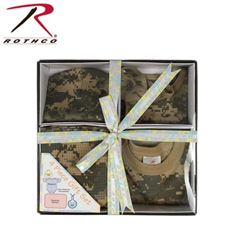 Picture of Infant 4 Piece Camo Boxed Gift Set by Rothco®