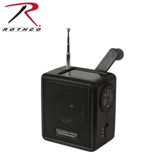Picture of Solar/Wind Up Radio by Rothco®
