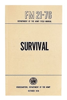 Picture of Manual - Survival FM21-76 - US Army