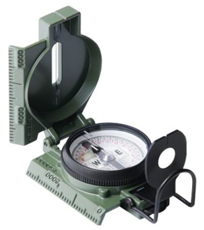 Picture of Cammenga G.I. Military Phosphorescent Lensatic Compass (Model#27)