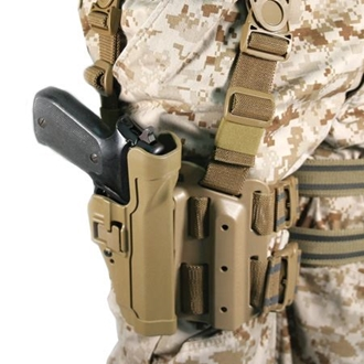 Picture of SERPA® Level 2 Tactical Holster by BlackHawk!®