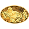 """Picture of Buddha Laughing PVC Patch 2.9"""" x 1.8"""" by Maxpedition®"""