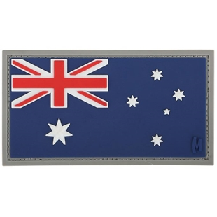 "Picture of Australia Flag PVC Patch 3"" x 1.6"" by Maxpedition®"
