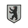 "Picture of Berlin Bear Patch 1.63"" x 2.125"" 3D PVC Morale Patch by Maxpedition®"
