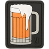 "Picture of Beer Mug 1.6"" x 2"" 3D PVC Morale Patch by Maxpedition®"