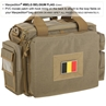 """Picture of Belgium Flag PVC Patch  3"""" x 2"""" by Maxpedition®"""