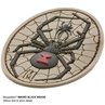 """Picture of Black Widow PVC Patch 2"""" x 3"""" by Maxpedition®"""