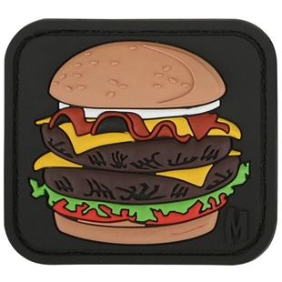 "Picture of Burger PVC Patch 2.1"" x 1.875"" by Maxpedition®"