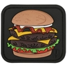"""Picture of Burger PVC Patch 2.1"""" x 1.875"""" by Maxpedition®"""