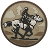 """Picture of Cowboy PVC Patch 2.43"""" x 2.43"""" by Maxpedition®"""
