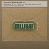 """Picture of DILLIGAF PVC Patch 2.75"""" x 1"""" by Maxpedition®"""