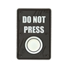 """Picture of DO NOT PRESS PVC Patch 1.5"""" x 2.25"""" by Maxpedition®"""