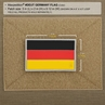 """Picture of Germany Flag PVC Patch 3"""" x 1.9""""  by Maxpedition®"""