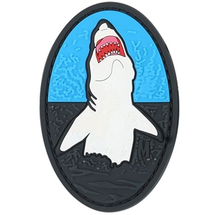 "Picture of Great White PVC Patch 2"" x 3"" by Maxpedition®"