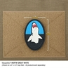 """Picture of Great White PVC Patch 2"""" x 3"""" by Maxpedition®"""