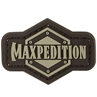 """Picture of Maxpedition® 1 Inch Logo PVC Patch 1.5"""" x 1.0"""" by Maxpedition®"""