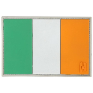 "Picture of Ireland Flag PVC Patch 3"" x 2"" by Maxpedition®"