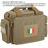 """Picture of Italy Flag PVC Patch 3"""" x 2"""" by Maxpedition®"""