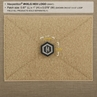 """Picture of Maxpedition® Hex Logo PVC Patch 0.87"""" x 1"""" by Maxpedition®"""