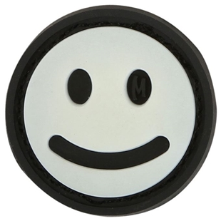 "Picture of Mini Happy Face PVC Patch 0.875"" x 0.875"" by Maxpedition®"