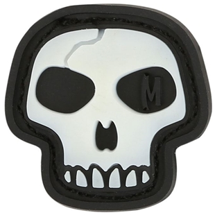 "Picture of Mini Skull PVC Patch 0.875"" x 0.875"" by Maxpedition®"