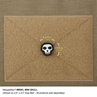 """Picture of Mini Skull PVC Patch 0.875"""" x 0.875"""" by Maxpedition®"""