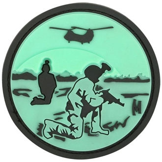 """Picture of Night Vision PVC Patch 2.17"""" x 2.17"""" by Maxpedition®"""