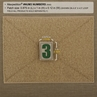 """Picture of Number 3 PVC Patch 0.84"""" x 1.18"""" by Maxpedition®"""