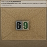 "Picture of Number 6/9 PVC Patch 0.84"" x 1.18"" by Maxpedition®"