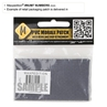 """Picture of Number 7 PVC Patch 0.7"""" x 1.18"""" by Maxpedition®"""