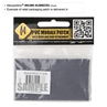 """Picture of Number 8 PVC Patch 0.84"""" x 1.18"""" by Maxpedition®"""