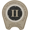 "Picture of Right To Bear Arms PVC Patch 2.6"" x 3"" by Maxpedition®"