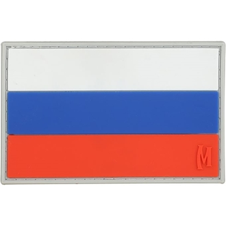 """Picture of Russian Federation Flag PVC Patch 3"""" x 1.9"""" by Maxpedition®"""