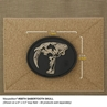 """Picture of Sabertooth Skull PVC Patch 3"""" x 2.5"""" by Maxpedition®"""