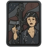 """Picture of Soldier Girl PVC Patch 1.8"""" x 2.4"""" by Maxpedition®"""