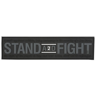 """Picture of Stand and Fight 2nd Amendment Patch  5"""" x 1.25"""" by Maxpedition"""