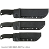 Picture of Large Short Clip Point Fixed Blade Knife (Plain Edge)