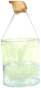 Picture of Folding Clear Water Bucket by TrailSide by Chinook