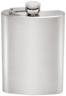 240 ml Hip Flask Stainless Steel by Chinook®
