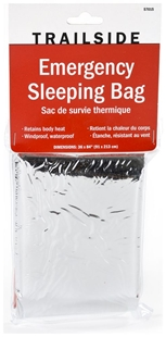 Picture of Thermal Emergency Sleeping Bag by TrailSide