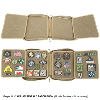 Picture of Morale Patch Book by Maxpedition