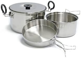 Picture of Plateau Expedition Stainless Steel Cookset by Chinook®