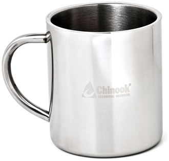 Picture of 12 oz. Double Wall Stainless Steel Mug by Timberline of Chinook®