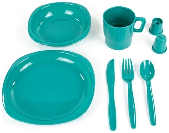 Picture of Camper Tableware Set by Chinook®