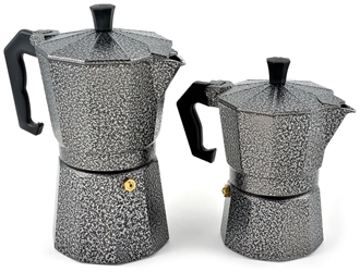 Picture of Granite Espresso Camp Coffee Maker (3 or 6 Cup) by Chinook®