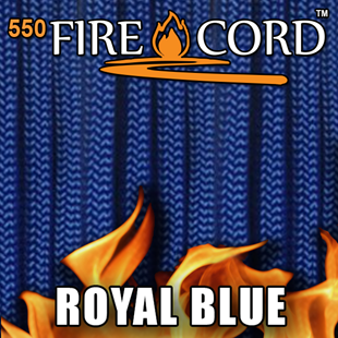 Picture of 550 FireCord - Royal Blue - 25 Feet by Live Fire Gear™